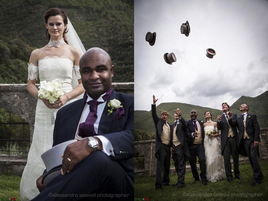 Свадьба в английском стиле в Италии
